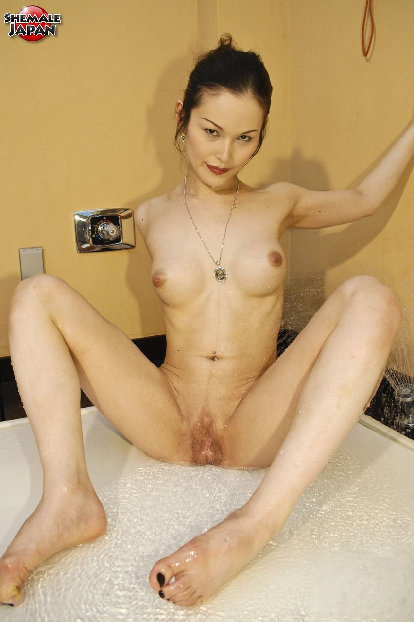 Beautiful naked transsexual women