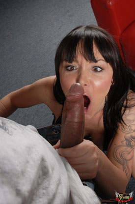 t danielle foxxx beast 01 Danielle Foxxx Gets Her Pussy Stretched By Big Black Cock!