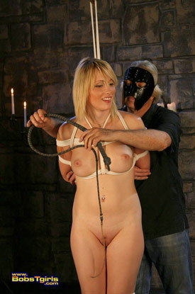 t carmen kaspar bobstgirls 03 Post Op Transsexual Carmen Kaspar Gets Tied On Bobs Tgirls!