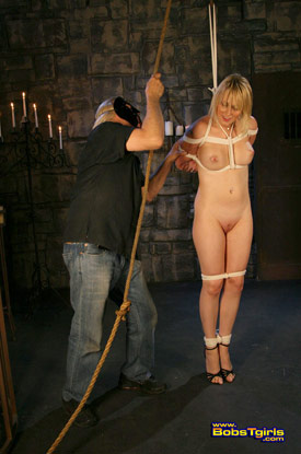 t carmen kaspar bobstgirls 04 Post Op Transsexual Carmen Kaspar Gets Tied On Bobs Tgirls!