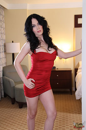 t reesa noi red sexchangegirl 02 Sexy Post Op Transsexual Reesa Noi In Red On Sex Change Girl!