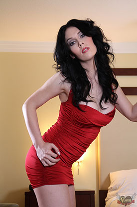 t reesa noi red sexchangegirl 03 Sexy Post Op Transsexual Reesa Noi In Red On Sex Change Girl!