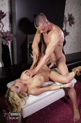 t kimber james cock sucking 03 Pornstar Kimber James Sucks And Fucks On Busty Kimber XXX!