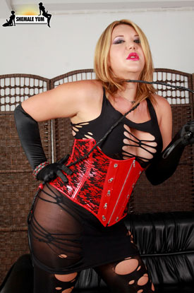 t postop transsexual christina 01 Post Op Transsexual Christina Has Some Fun On Shemale Yum!